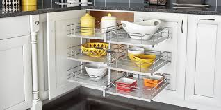 blind corner kitchen cabinet inserts corner cabinet ideas how to maximize kitchen storage