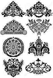 ancient tattoos and ornaments royalty free cliparts vectors and