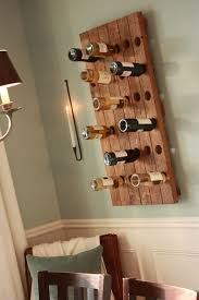 wine rack ideas spaces eclectic with blue brown chair rail