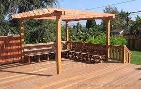 Arbors And Pergolas by Building A Pergola Over A Patio Los Angeles Wood Pergolas Patio