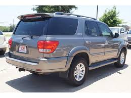 2005 toyota sequoia price 2005 toyota sequoia limited 4dr suv in fort worth tx g8 auto