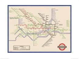 underground map underground map harry beck 1933 prints by transport for