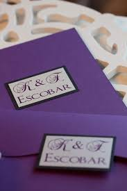 Purple And Silver Wedding Invitations Weddings Sleepy Hedgehog Press
