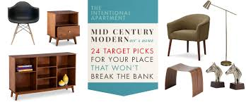 mid century modern on a dime 24 target picks for your place that