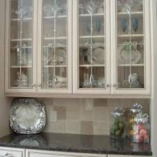 Glass Front Kitchen Cabinet Door Beveled Glass Inserts For Kitchen Cabinets Http Shanenatan