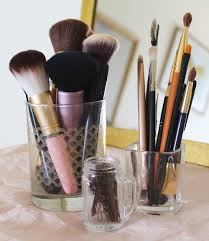 makeup brushes storage ideas ideas for storing makeup with
