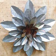 Wall Flower Decor by Charming Metal Flower Wall Art Decor Click To Expand Metal Wall