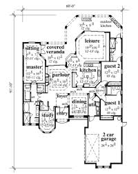 mediterranean style house plan 3 beds 3 50 baths 2690 sq ft plan
