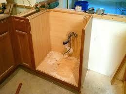 corner farmhouse sink installation