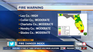 Colorado Wildfire Risk Map by Southwest Florida U0027s Fire Danger Index Map Youtube