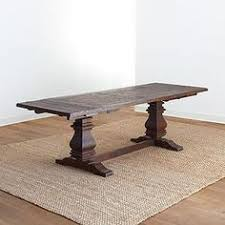 before and after with what looks like ikea to world market table
