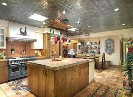 Kitchen Island With Hanging Pot Rack Hanging Pot Rack Ceiling Mount Kitchen Traditional With Island