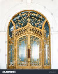 Keyhole Doorway Beautiful Arched Doorway Door Made Wood Stock Photo 168036470