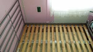 Heimdal Bed Frame Used Metal Bed Frame With Wooden Slat Base Ikea Heimdal