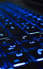 neon computer keyboard android wallpaper free download