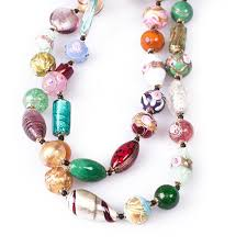 glass beads necklace images Caterina cornaro classic murano glass beads necklace jpg