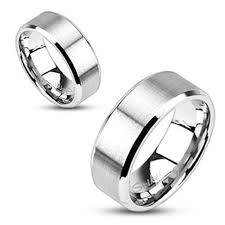 Stainless Steel Wedding Rings by Matching Stainless Steel Wedding Bands For Him And Her 925express