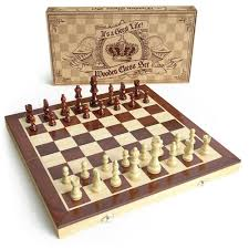 wooden chess set universal standard wooden chess board game set