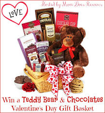 gift baskets for s day win teddy chocolates s day gift basket us ends 2