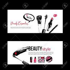 makeup artist equipment banner templates for makeup artist studio site header business