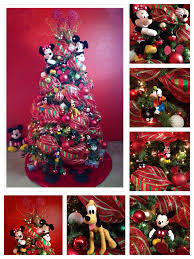 my christmas tree decoration 2013 theme mickey mouse disney