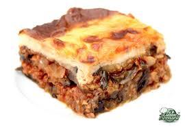 recettes cuisine la cuisine de bernard moussaka grecque