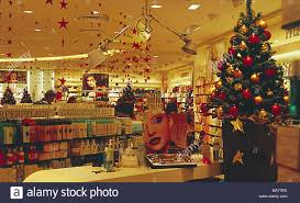 christmas stores shopping center perfumery christmas decoration no property release