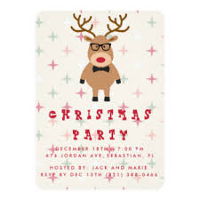 funny christmas party invitations u0026 announcements zazzle