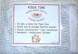 amazon com toy storage net for stuffed animals top quality