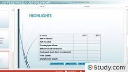 Planning Your PowerPoint Presentation  Custom Slideshows  Timing and Options Study com
