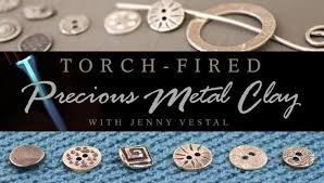 Jewelry Making Classes In Atlanta - torch fired precious metal clay a jewelry making class on craftsy