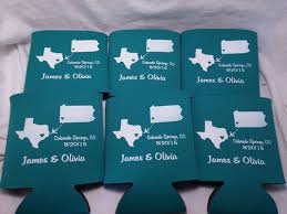 koozies for weddings 177 best state wedding koozies images on wedding