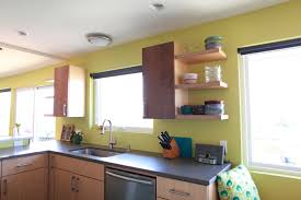 Kitchen Cabinets Grey Color by Appealing Brown Color Plywood Kitchen Cabinets With Double Door