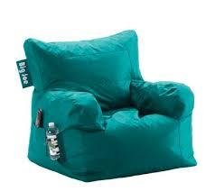 big joe dorm bean bag chair in deep aqua everything turquoise