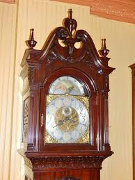 How To Oil A Grandfather Clock Monumental And Rare Carved Mahogany Grandfather Clock By R