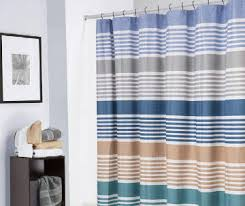 Shower Curtain Blue Brown Shower Curtains Big Lots