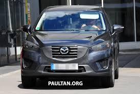 Cx 9 Redesign Spyshots Mazda Cx 5 Facelift New Grille And Lamps