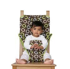 chaise bébé nomade chaise nomade bébé totseat chocolate maman naturelle