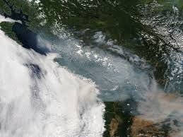 Wildfire Smoke Seattle by 05 August 2017 Meteorology Today