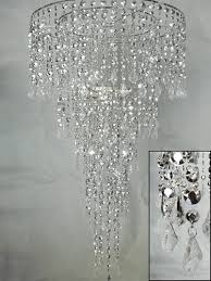Odeon Crystal Chandelier Mesmerizing Tiered Crystal Chandelier With Additional Home Design