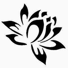 lotus flower tribal designs lotus flower tribal
