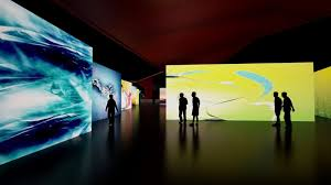 new museum light exhibit new museum pioneering a new age of art online art report