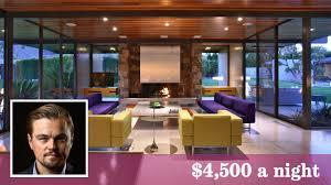 Leonardo Dicaprio Home by Leonardo Dicaprio Offers Nights At His Palm Springs Showplace La