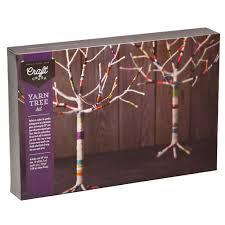 craft crush yarn tree kit williams