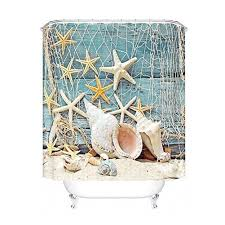 Fishing Shower Curtain Seashell Shower Curtain Mainstays Seashell Toss Printed Valance