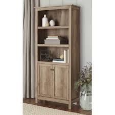 10 spring street farmhouse 5 shelf bookcase with doors walmart com