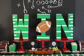 football party decorations football party ideas and tailgating tips free printables
