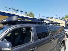 Toyota Tacoma Double Cab Roof Rack by Toyota Suburban Toppers