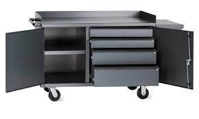 vari tuff mobile utility bin cabinet 63 in w x 26 in d x 36 in h