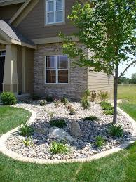 Drainage Ideas For Backyard River Rock Garden Drainage Solutions Des Moines Iowa